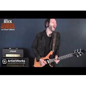 Video Aula Paul Gilbert - Artistworks - Rock Guitar Lessons