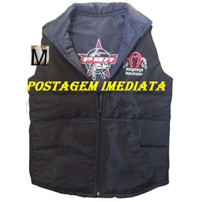 Colete Country Masculino Dupla Face Bordado Pbr Mangalarga