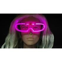 Anteojos Luminosos Led Neon - Nuevo Modelo Pack X 10