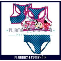 Malla Nena Entera Bikini Minnie Sweetvictorian Verano Disney