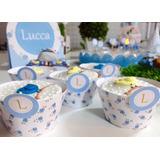 10 Wrappers Saia Forminha Personalizada Cupcake Peq.+brindes