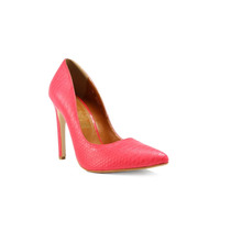 Trender Zapato Tipo Stiletto Color Rojo