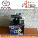 Bomba De Agua Toyota Corolla Sensación
