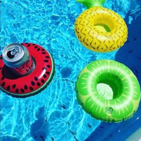Porta Copo Melancia - Boia Para Piscina - Bebida Flutuante