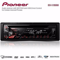 Toca Cd Player Pioneer Automotivo Deh 1950 Radio Aux Mp3 Usb