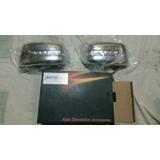 Cobertor Cromado Retrovisores Con Luz Led Nissan Tiida 05-08