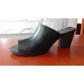 1f0df5cc9e6 Sandalias Apology De Cuero N - Vestuario y Calzado en Mercado Libre ...