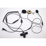 Auricular Moto Casco Para Kenwood Tyt F8 Baofeng 5r