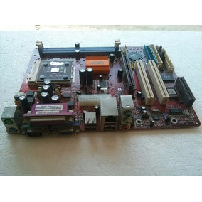 Mother Board Pcchips M825g V.9,2a Defeito Amd 462 1316