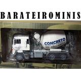 1:43 Caminhão Scania Lks 140 - Betoneira Barateirominis