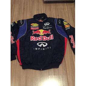 Jaqueta Casaco Colegial Varsity Baseball Red Bull F1