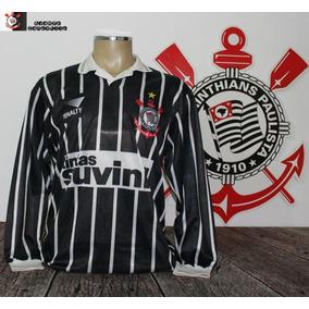 Camisa Retrô Corinthians Listrada - Camisas Masculinas no Mercado ... 162c9e2e39293