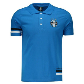 Camisa Tricolor Grêmio 98 - Pólos Manga Curta Masculinas no Mercado ... 41541c1751190