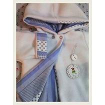Tapados De Polar-forrado En Interlook,jersey O Pique