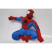 Homem Aranha Spiderman Pelúcia Fixa No Vidro Do Carro
