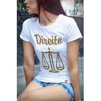 T-shirts Baby Look Cursos Direito Cpcu00173