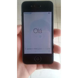 Iphone 4 16gb Original Apple Preto 3g Desbloqueado Seminovo