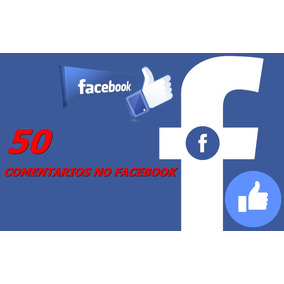 50 Comentários No Facebook (brasileiro) Promoção 100% Reais