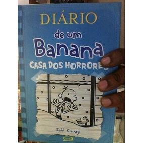 Livro Diário De Um Banana 6: Casa Dos Horrores Jeff Kinney
