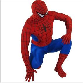 Fantasia Homem Aranha Adulto 170-180cm Altura Cosplay