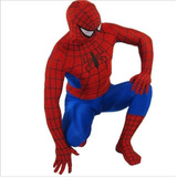 Fantasia Homem Aranha Adulto 160-170cm Altura Cosplay