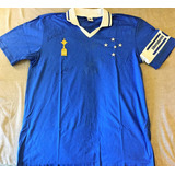 Camisa Cruzeiro Autografada 4 Grandes Ídolos