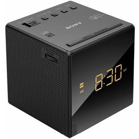 Rádio Relógio Sony Icf-c1 - Am - Fm - 110 Volts