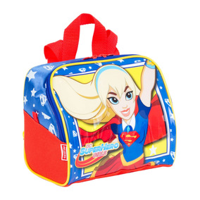 Lancheira Grande Super Hero Girls 17y Super Girl Sestini