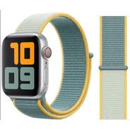 Pulseira Nylon Sport Loop Para Apple Watch 42/44mm Sunshine