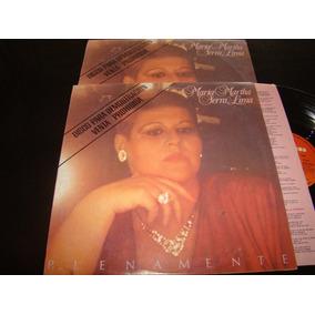 Maria Martha Serra Lima Plenamente Promo 1985 Vinilo Lp Nm+
