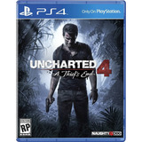 Juego Uncharted 4 Fisico Para Ps4 En Caja Gtia Local