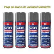 4 Car 80 Contato Spray Limpa Contato Elétrico E Eletrônico