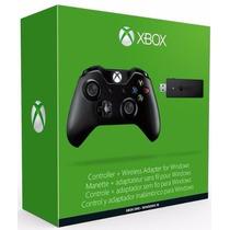 Controle Xbox One Sem Fio Entrada P2 + Adaptador Sem Fio Pc