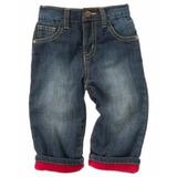 Gymboree Bebê Calça Jeans Forrada De Fleece!!