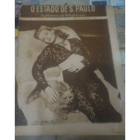 Estado De S.paulo, Suplemento Em Rotogravura N°268-1944