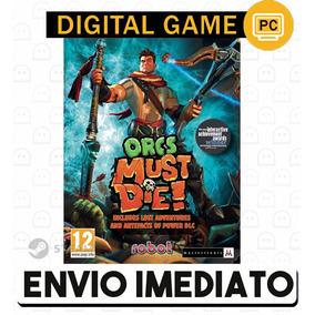 Orcs Must Die Game The Year Cd-key Steam Pc Envio Rápido
