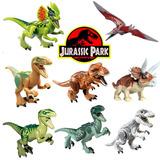 8pcs Jurásico Park Dinosaurio Jugar Figuras Acción Animal