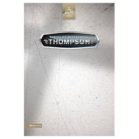 Biblia De Referencia Thompson Simi Piel C/indice + Envio