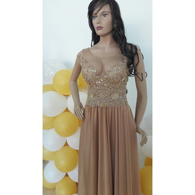 Hermoso Vestido Dorado