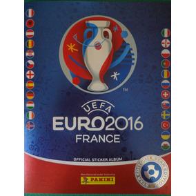 Album Uefa Euro 2016 Ed. Suíça Panini P/ Colar+ Atualizaçao