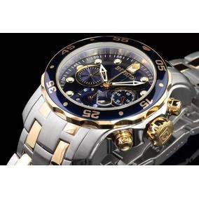 5b74e243572 Relógio Invicta Pro Driver 0077 Prata - Relógios no Mercado Livre Brasil