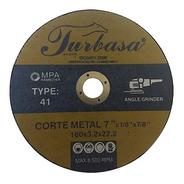Disco De Corte Para Metal De 7 Turbasa Con 5 Pzas