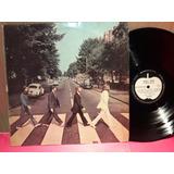 The Beatles Abbey Road Etiqueta Manzana Apple Lp Vinilo