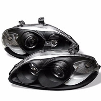 Farol Angel Eyes Honda Civic 1996 A 1998 + Kit Xenon