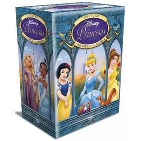 Box Coleção Princesas Disney - Vol 1 Original Lacrado