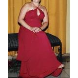 Vestido Com Cauda Vermelho - Fátima Gonçalves