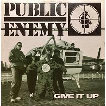 Cd Public Enemy Give It Up Promo Usado