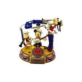 Telefono Pato Donald, Mickey Mouse,goofy,orquesta