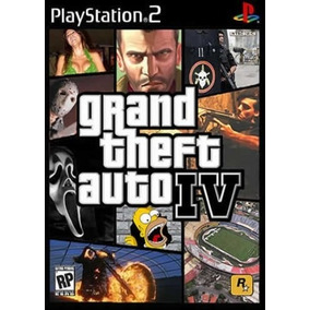 Patch Play2 Jogo Grand Theft Auto Gta Iv 4 Ps2 Playstation2