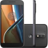 Smartphone Motorola Moto G4 Xt1626 16gb Preto (vitrine)